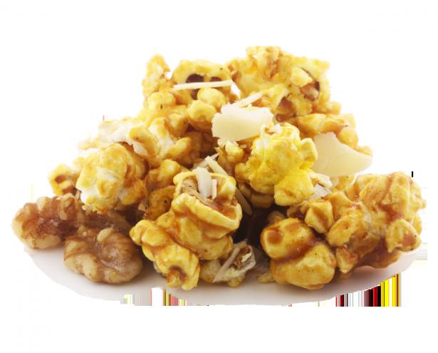 Walnuts and Almonds Caramel Popcorn