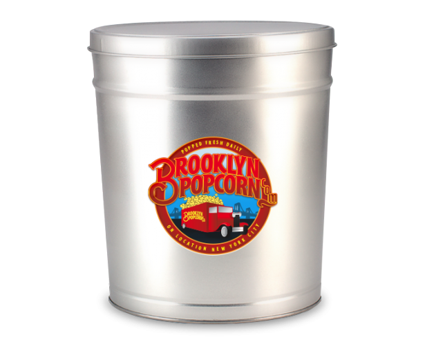 1-Gallon Brooklyn Popcorn Tin
