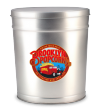 3.5-Gallon Brooklyn Popcorn Tin