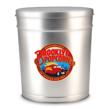 2-Gallon Brooklyn Popcorn Tin