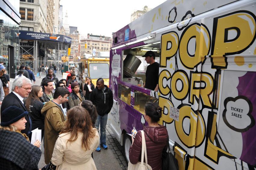 Tribeca Film Festival - Brooklyn Popcorn